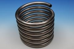 Tube hélicoïdal cylindrique